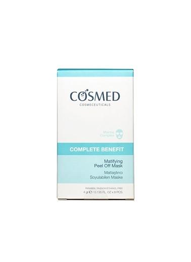 Cosmed COSMED Complete Benefit Matifying Pell Off Mask 4gr x 8 poşet Renksiz